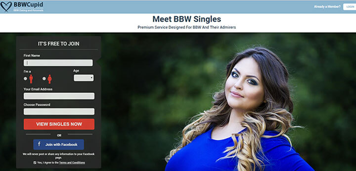 bbw cupid homepage