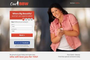 One BBW homepage