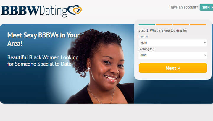 bbbw dating homepage