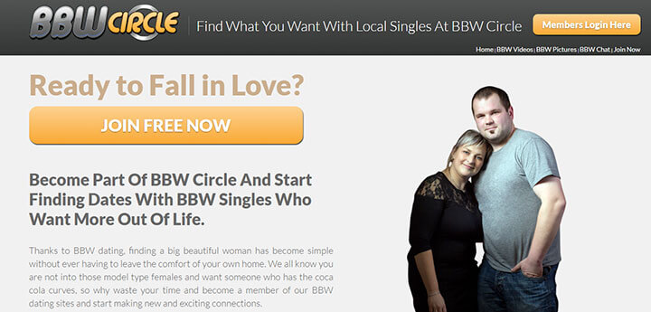 bbw circle homepage