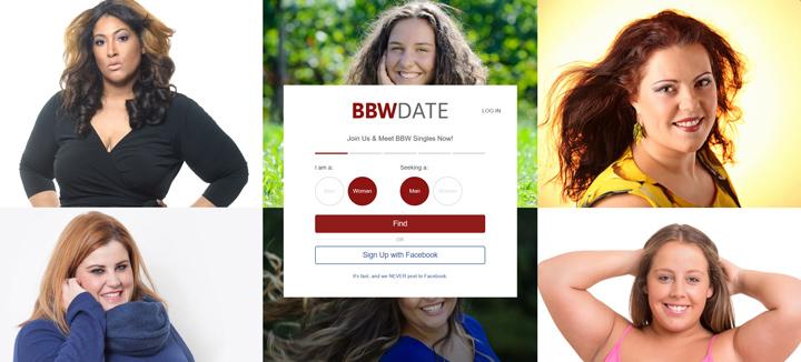 BBW Date printscreen homepage